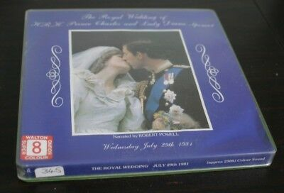 Charles And Diana The Royal Wedding 1981 Super 8Mm Sound Film