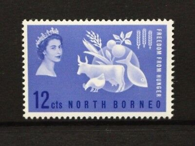NORTH BORNEO 1963 Freedom From Hunger. Set of 1. Mint Never Hinged. SG407.