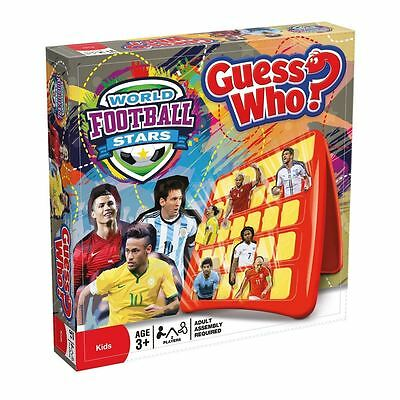 Guess Who World Football Stars Edition Childrens Guessing Board Game