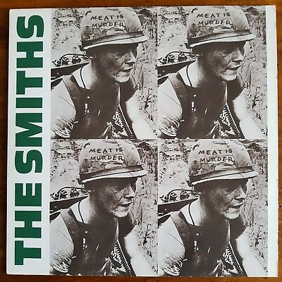The Smiths Meat Is Murder EARLY UK VINYL LP ROUGH 81 A2 B2 Matrix - Morrissey