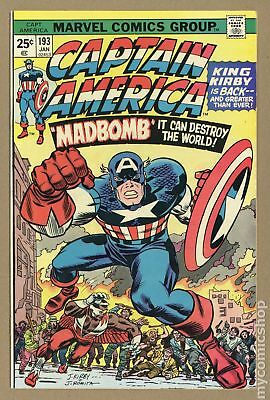 Captain America (1968 1st Series) #193 VF 8.0