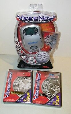 Video Now Personal Video Player w/ Nickelodeon +Beyblade & Jackie Chan ALL NEW