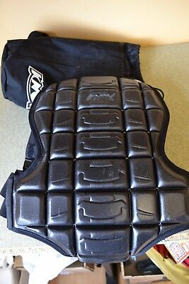 Knox Authentic Body Armour Armor Back Protector Vest Size Small USED #A