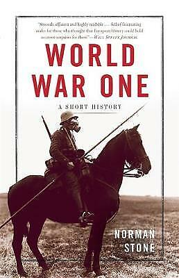 World War One: A Short History,PB,Norman Stone - NEW