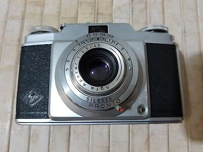 Agfa Silette Camera,  good working condition, 35 mm., vintage