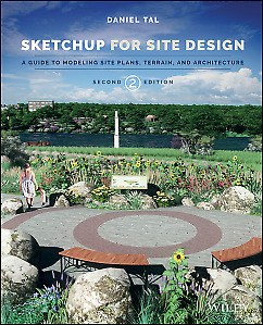 SketchUp for Site Design: A Guide to Modeling Site,PB,Daniel Tal - NEW