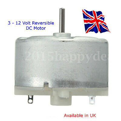 RF-500 series - Reversible  3 - 12 Volt DC MOTOR - Available in UK