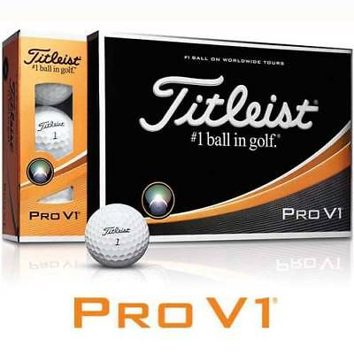 NEW Titleist Pro V1 2017 Golf Balls - Dozen