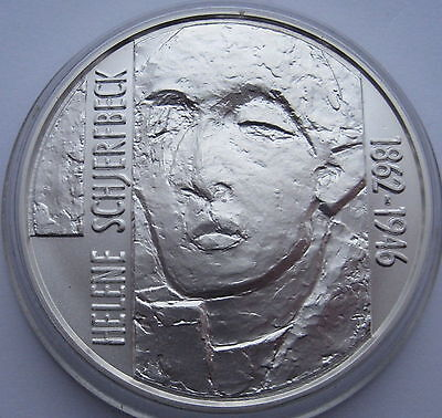 Finland 100 Markkaa 1996 Silver Schjerfbeck UNC Condition !!