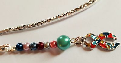 Autism Awareness Charm Bookmark