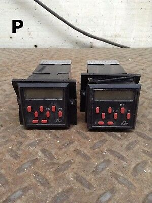Red Lion Controls LNXC Presettable Counter -Lot of 2
