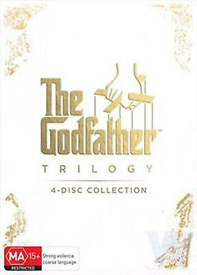 The Godfather | Trilogy - DVD Region 4 Free Shipping!