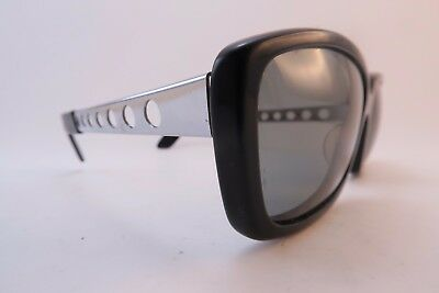 Vintage 60s Polaroid 383 sunglasses holed sides and stylised gun arm ends DEADLY