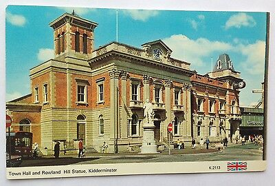 Postcard of Kidderminster Town Hall, Worcestershire
