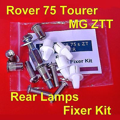 Rover 75 MG ZT TOURER Rear Lights Lamps Fixer Kit with Free Crimping Tool