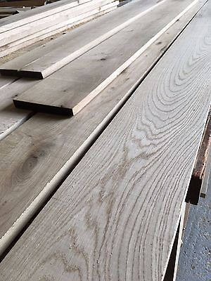 Kiln Dried Oak Boards, Planks - Ex 26mm Thick (min 22mm planed) L.Rustic Grade