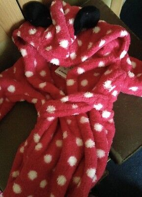 Minnie Mouse Robe /Dressing Gown 6-9 Months BRAND NEW