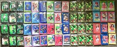 48 X Kids Wallets Toys Ben10 Frozen Birds Barbie Camouflage Wholesale Resale
