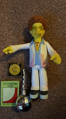 The Simpsons Playmates World of Springfield disco stu interactive figure