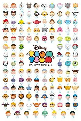 Tsum Tsum Maxi Poster Collect Them All 61 x 91,5 cm