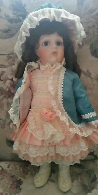 THE FRANKLIN MINT 1994 THE BEBE' BRU BY MARYSE NICOLE Reproduction of a Bru