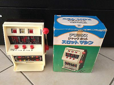 Slot Machine Toy Waco ST Made In Japan Elettronica 23 Cm Anni 70