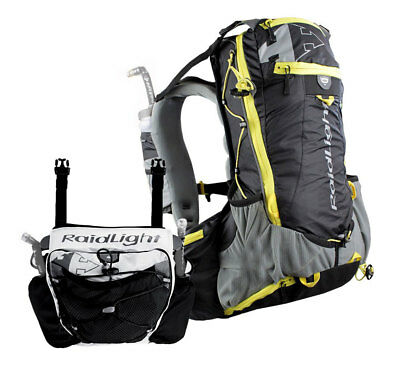 Raidlight Ultra Olmo 20 With Pack Avant Ultra 4 20 Liters   4 Liters Black   Ye