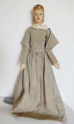"Vintage 1940's Simplicity 15"" Sewing Mannequin Composition"