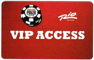 RIO casino* VIP ACCESS *NEW~Las Vegas hotel key card*Free Fast Shipping!