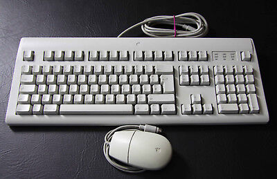 Apple Design Keyboard mit Maus