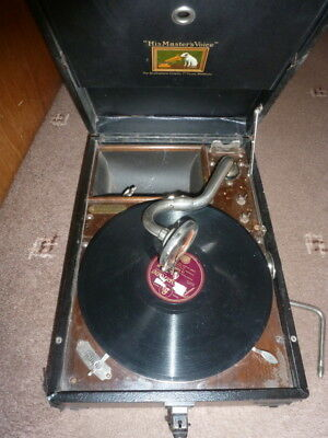 HMV His Masters Voice Gramophone  78 Record Player