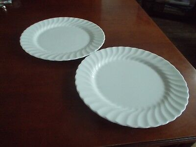 Wedgwood Candlelight 2 x Dinner Plates 10 & 5/8""
