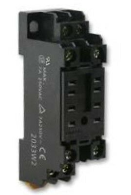 50 Omron Industrial Automation Pyf08Ae Relay Socket My2 Series 8 Way