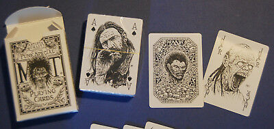Punk Rock illustrated playing Cards