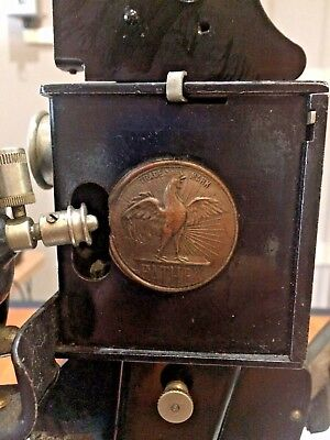 Pathex Antique Movie Projector Circa 1920's Made In France