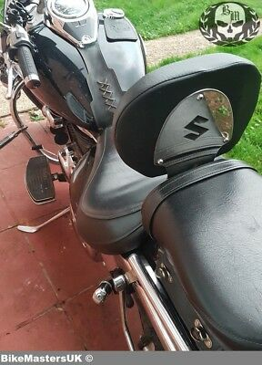 Suzuki M 800 M800 Intruder (2005-2009) Stainless Steel  Driver Rider Backrest