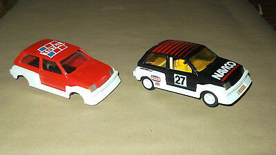 Scalextric Metro 6R4 Navico plus Total Shell