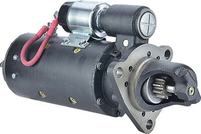 New Starter for Case 35MT Series DD; 12-Volt; CW; 10-Tooth,  A145555, A149056