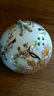 Bone china Pomander by Roy Kirkham