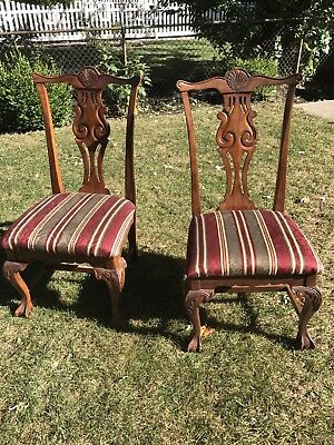 dining room chairs Antique Style (4x) $35 each/$140 total OBO