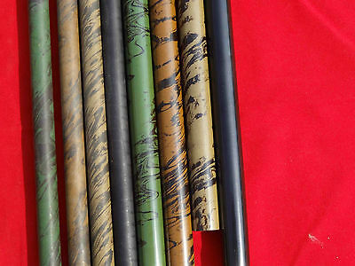 """EBONITE RODS- HARD RUBBER- 11mm(7/16"""" Dia) - 4 COLORS- 10 Inches Length"""
