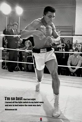 Muhammad Ali I'm so Fast in Training Maxi Poster 61 x 91,5 cm