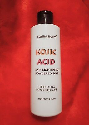 Kojic Acid Powder Soap/Wash Skin Lightening for Face & Body 120g