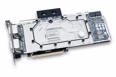 Gigabyte GTX 980Ti WINDFORCE 3X (with installed EKWB waterblock & backplate)