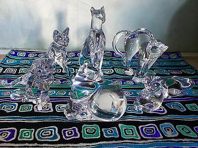 Rare Baccarat kitty collection