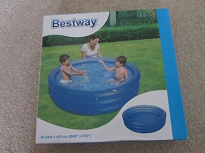 """BESTWAY PLAY Pool 65"""" X 15"""" HEIGHT (165CM X 37CM) -BRAND NEW AND BOXED"""