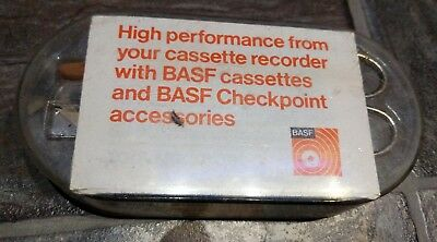 Vintage BASAF Cleaning Cassette & Accessories