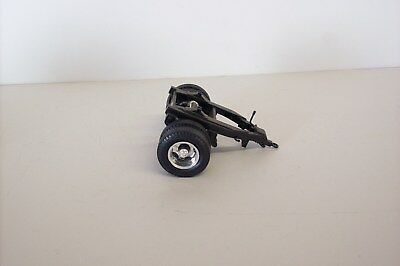 Vintage Built Semi Truck Tractor Trailer Dually Wheel Dolly, Nice Cond 1/24 70's