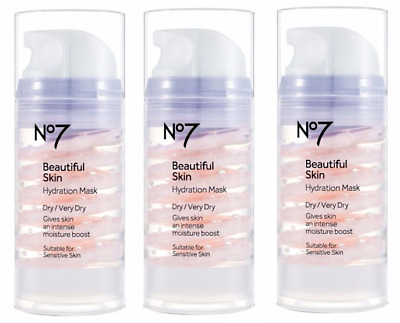 No7 Beautiful Skin Hydration Mask Dry / Very Dry 100ml By Boots