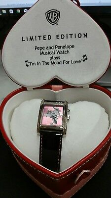 Limited Edition Pepe Le Pew and Penelope Watch
